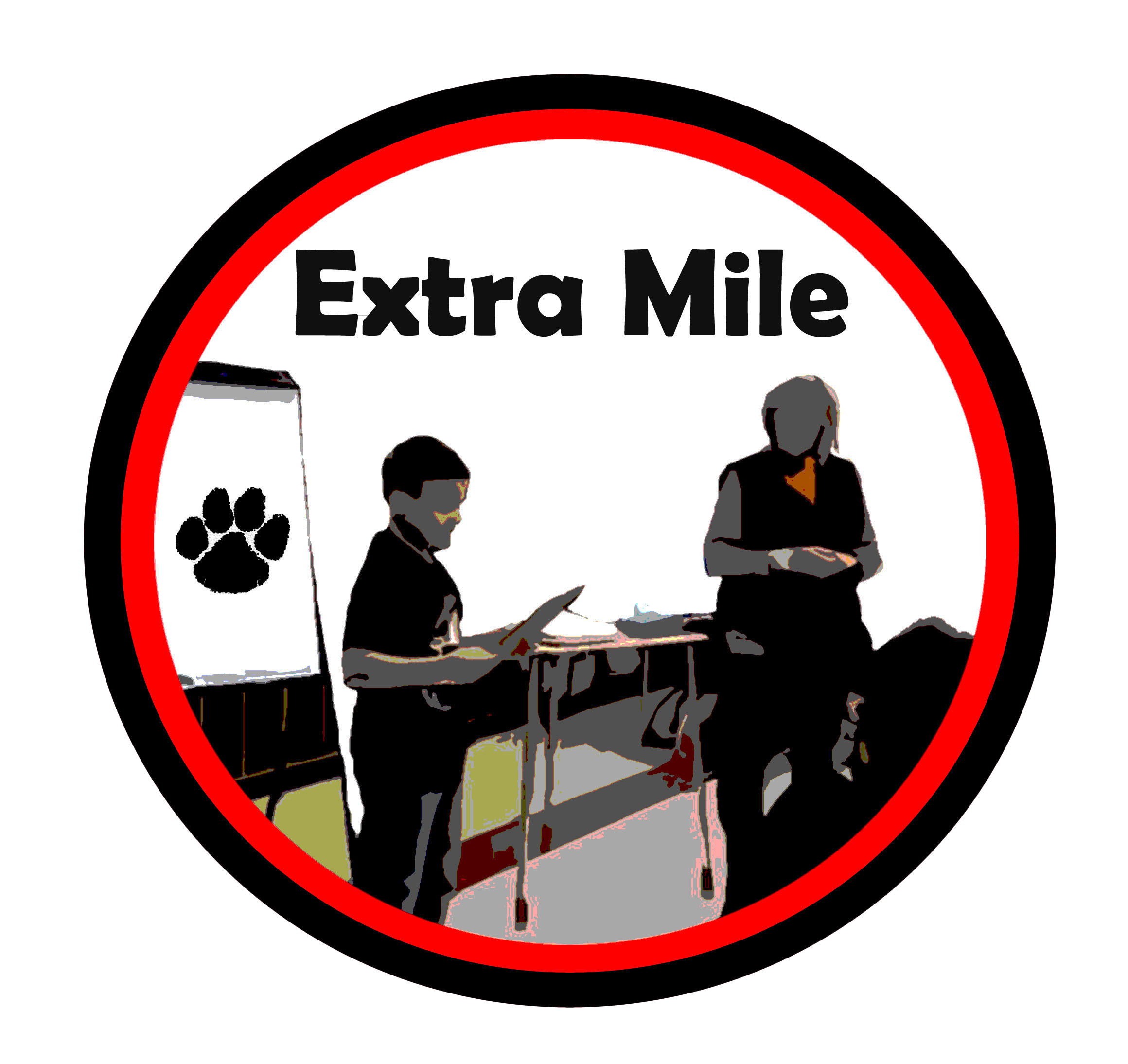 Extra Mile afterschool logo